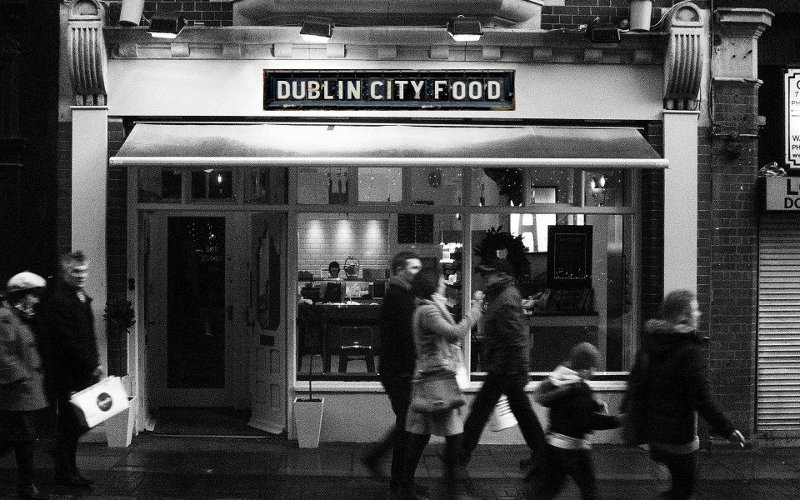Dublin city food restaurant andrews street