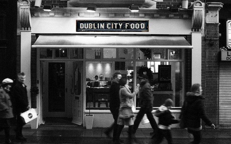 Dublin city food restaurant andrews street