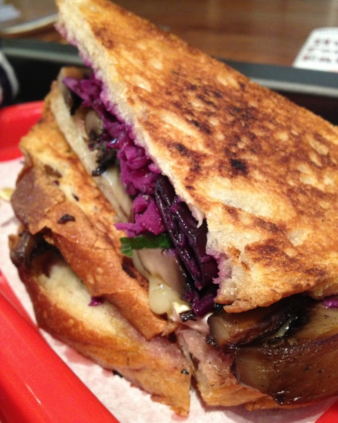 portobello mushroom sourdough sandwich dublin city food café