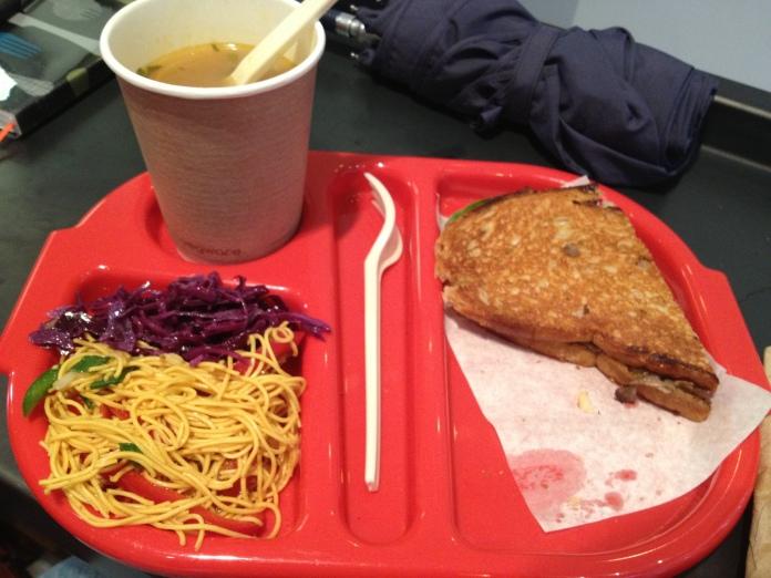 dublin city food meal soup noodle sandwich café