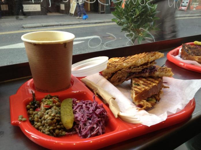dublin city food café meal window