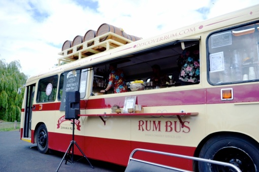Rum Bus at London Foodies Festival, Feast.