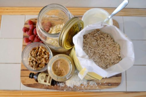 Gastro Overnight Oat ingredients 1