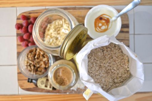 Gastro Overnight Oat ingredients