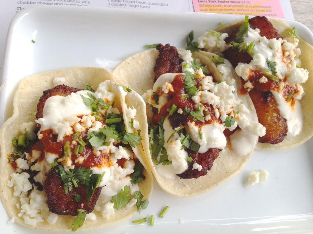 plantain tacos Wahaca Westfield Stratford Thomasina Miers