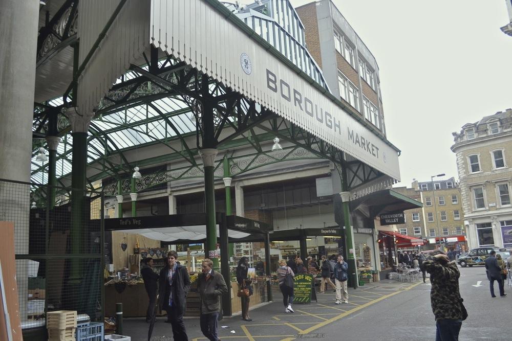 Borough Market entrance