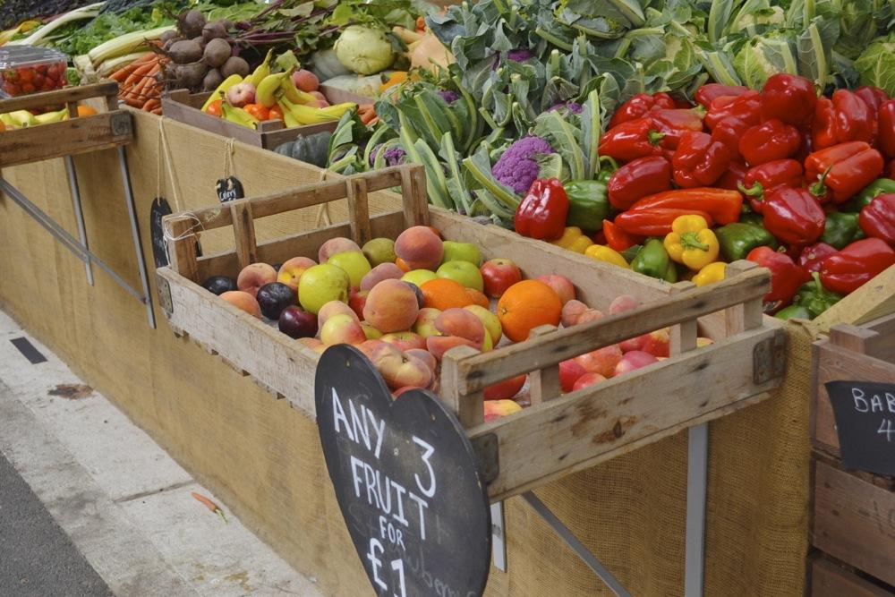 Borough Market fruit and veg