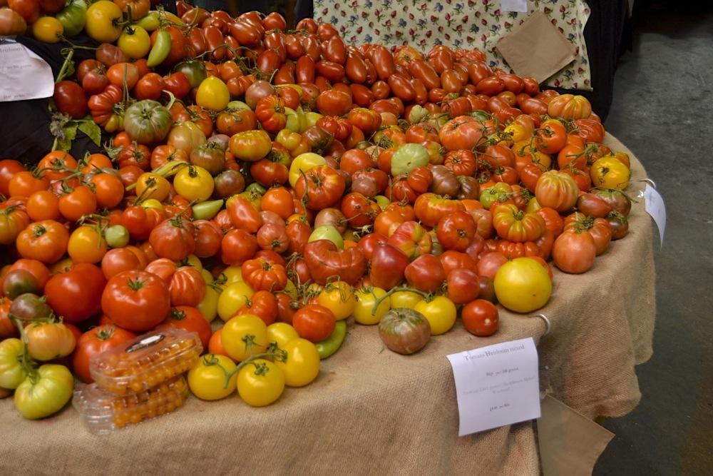 Borough Market tomato selection