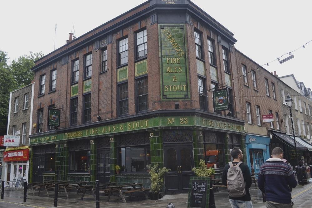Exmouth Market Courages pub