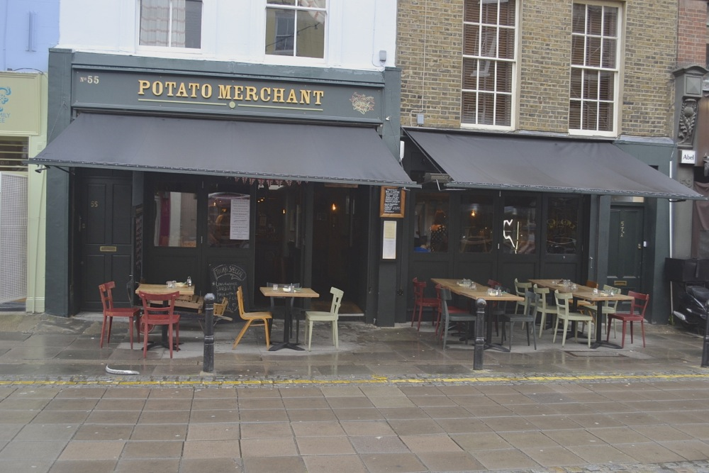 Exmouth Market, The Potato Merchant