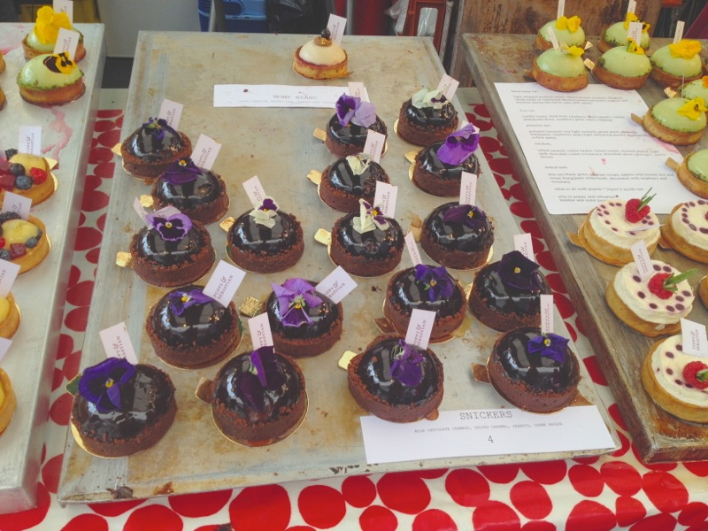Very special cakes, Real Food Festival, Southank