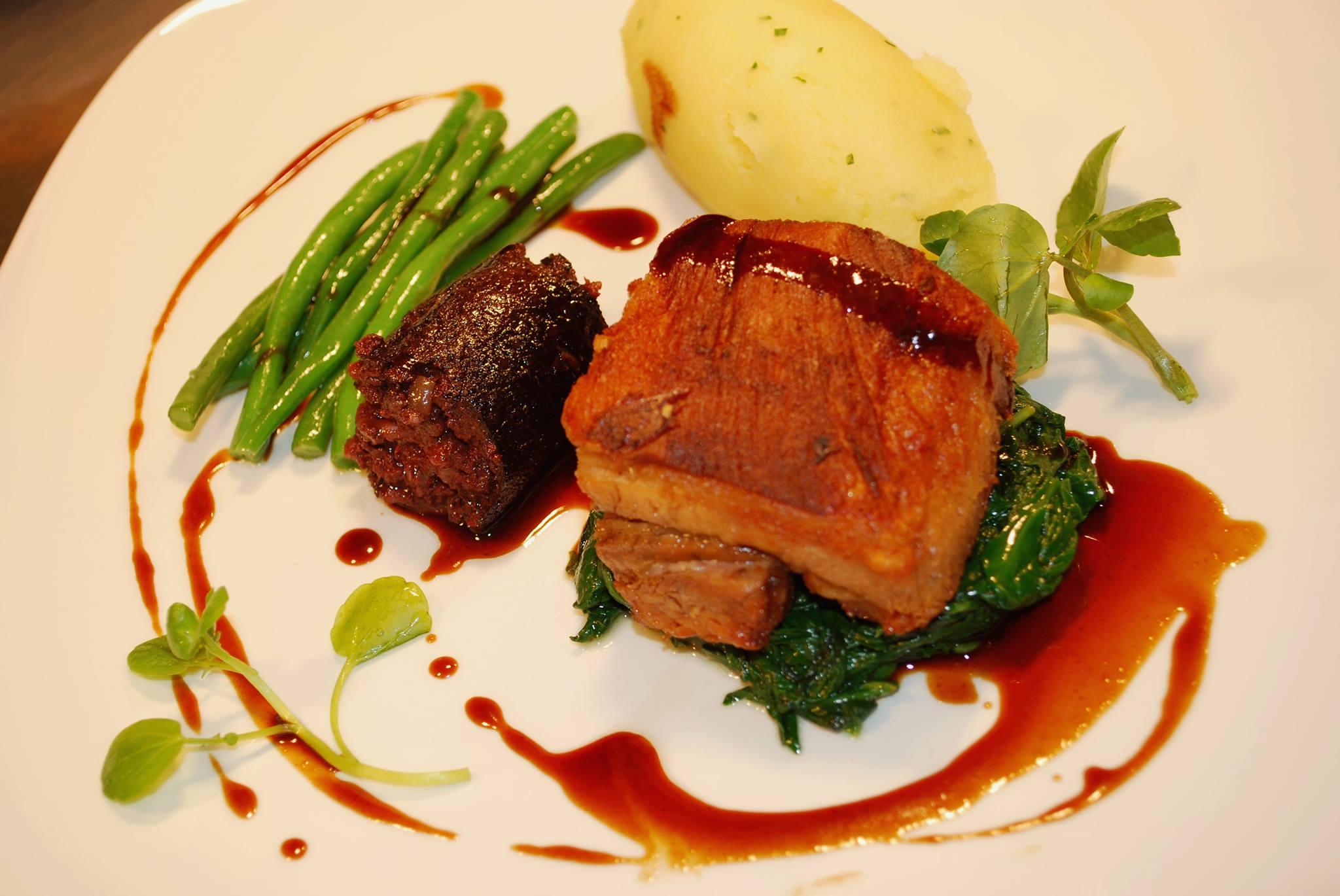 brasserie7 dublin pork belly main restaurant