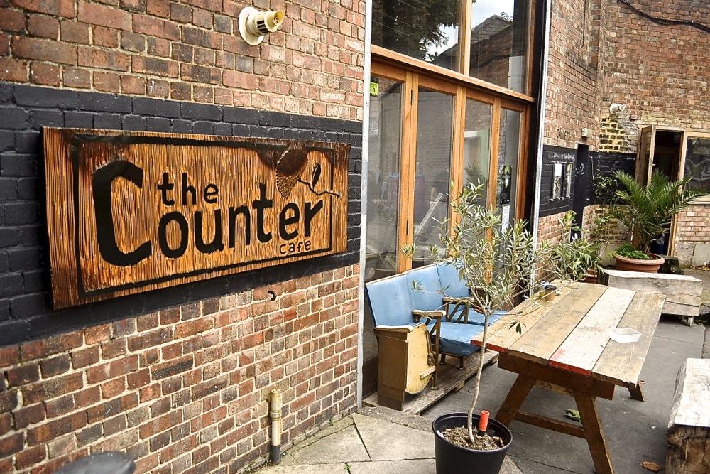 the counter cafe restaurant hackney brunch art gallery