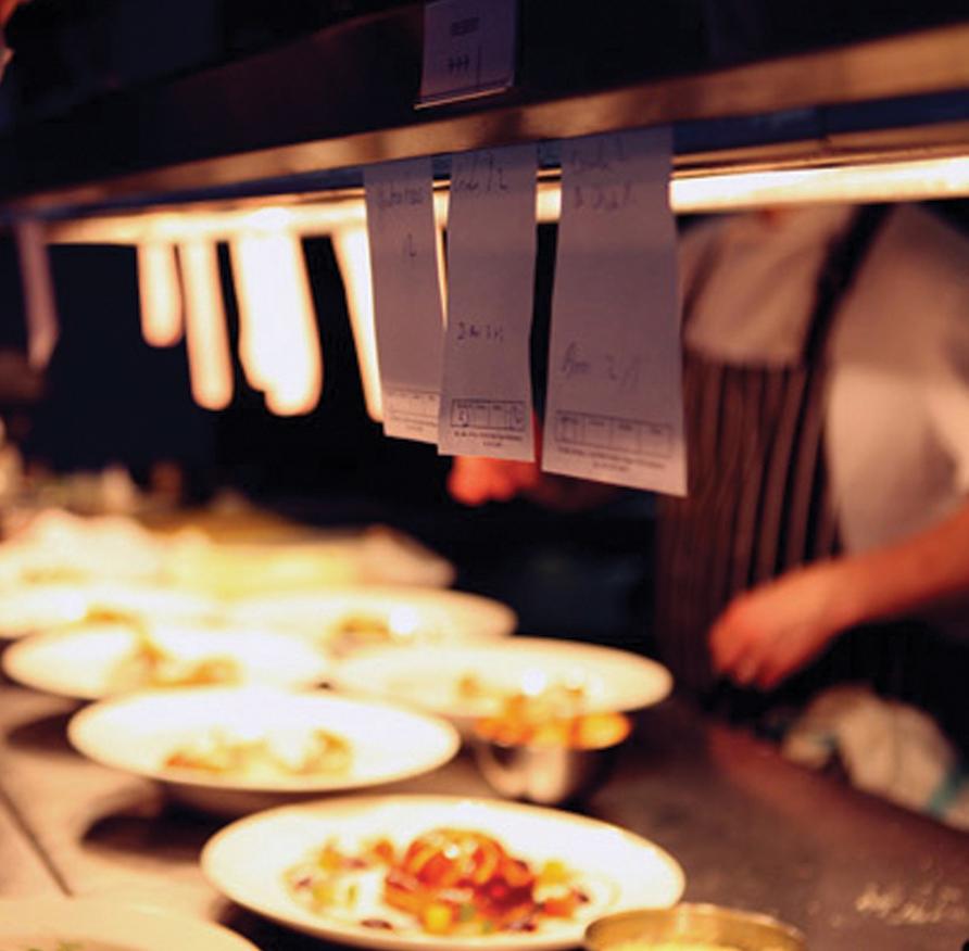 restaurant service plates chef tickets orders dublin