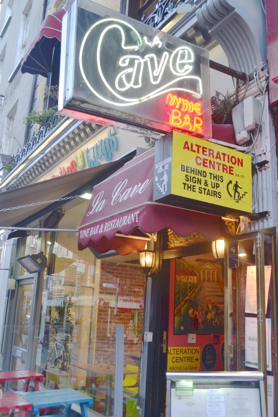la cave wine bar restaurant dublin south anne street french