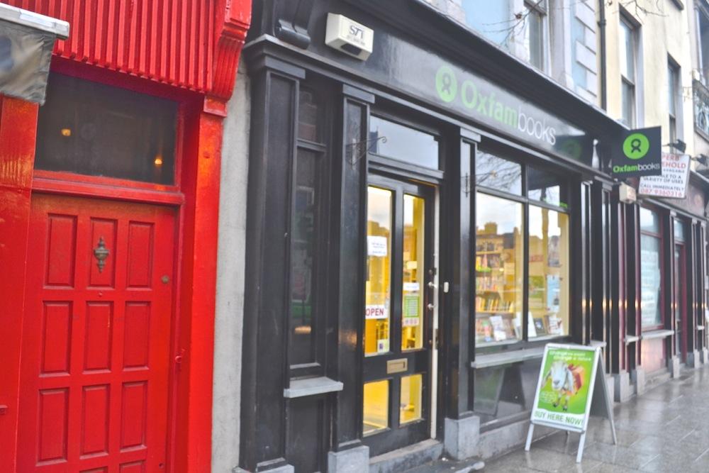 Oxfam bookshop second hand dublin parliament street