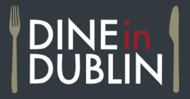 Dine in Dublin logo