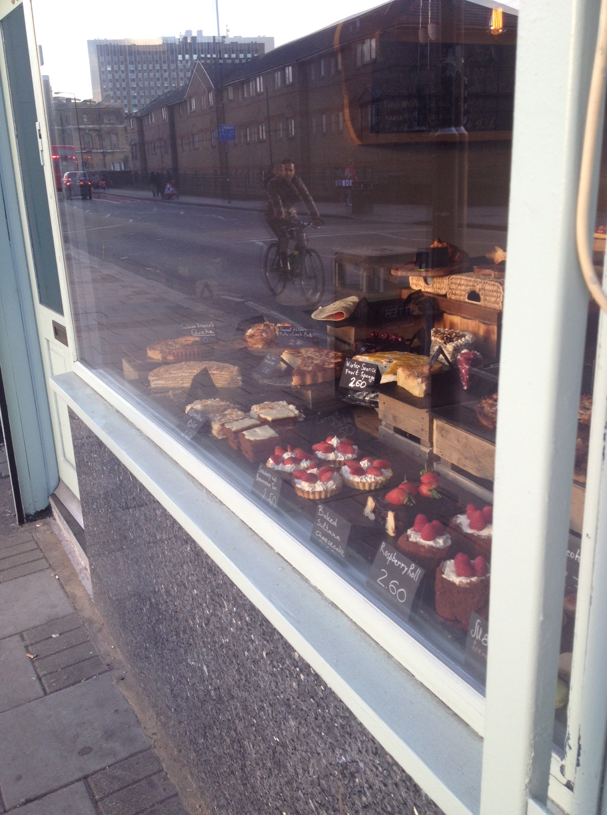 patisserie bakery baked cafe sawmill stratford london cakes tarts