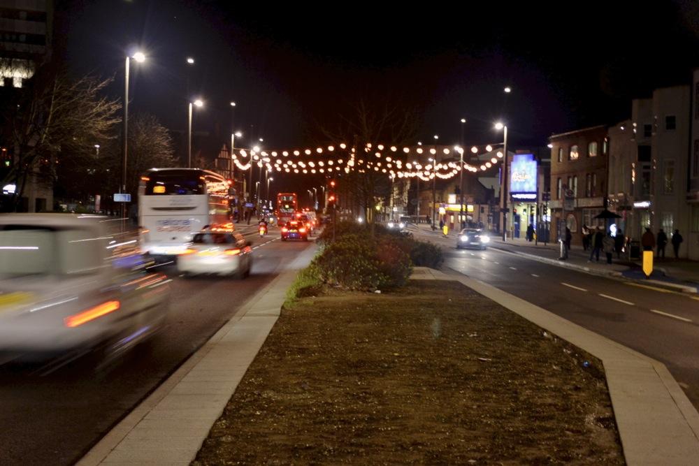 road traffic stratford dual carriageway crossing stratford london e15