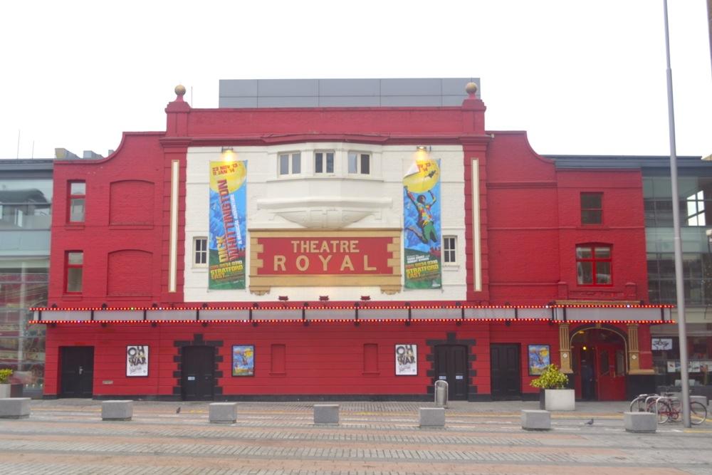 theatre royal stratford e15 london performance venue comedy show