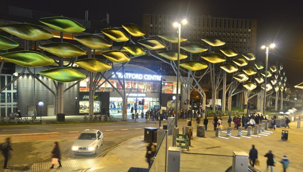 stratford shopping centre art street e15 london