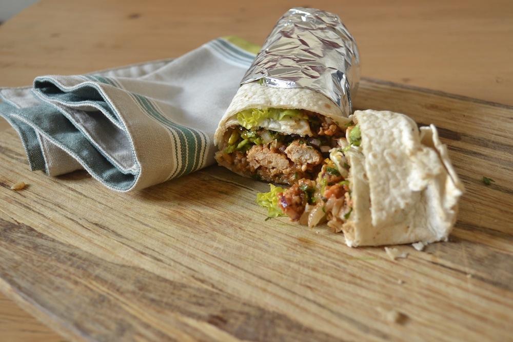 burrito mexican napkin board