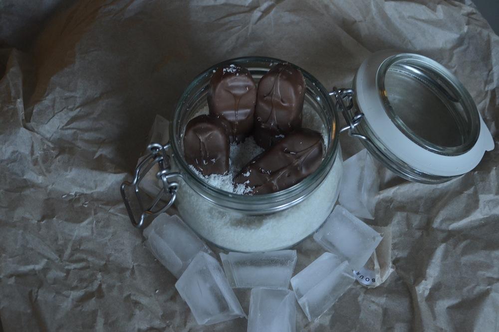 bounty ice chocolate coconut frozen