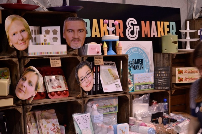 big cake show, exeter, gbbo masks, mary berry, paul hollywood, mel giedroyc, sue perkins, baking tools, bakers kit