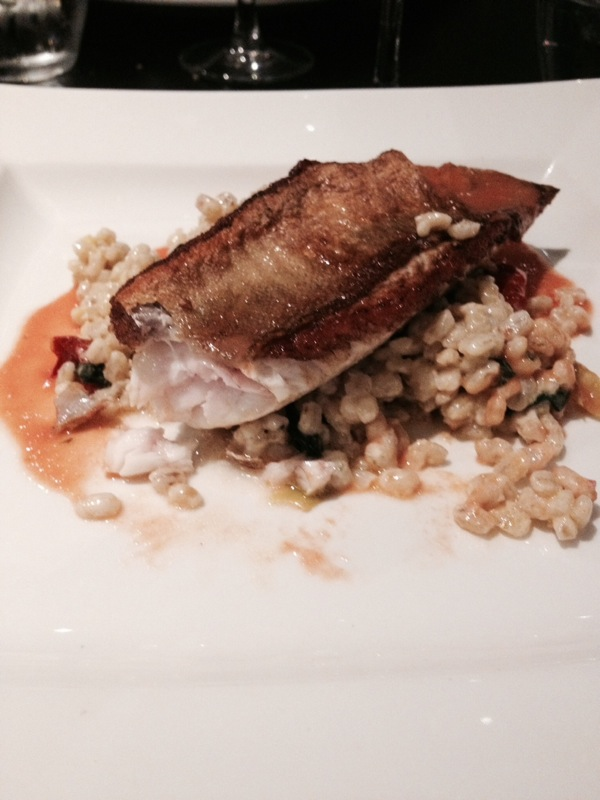 gurnard, fish main, south west england, exeter, mercure hotel, southgate hotel exeter, seasonal british fish