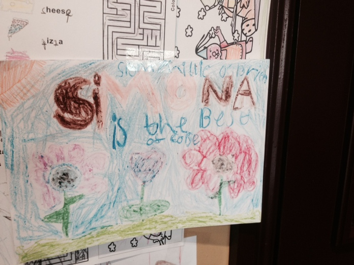 cafe simona, simona drogheda, fan art, childrens drawings, kids sketches