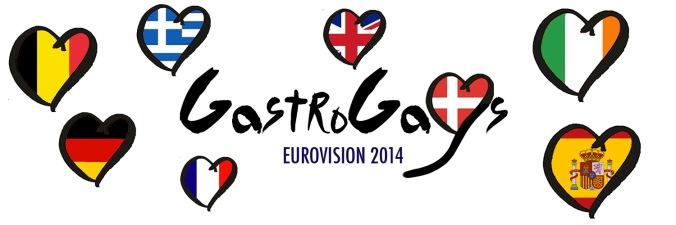 eurovision, gastrogays eurovision, esc2014, eurovision food, eurovision countries