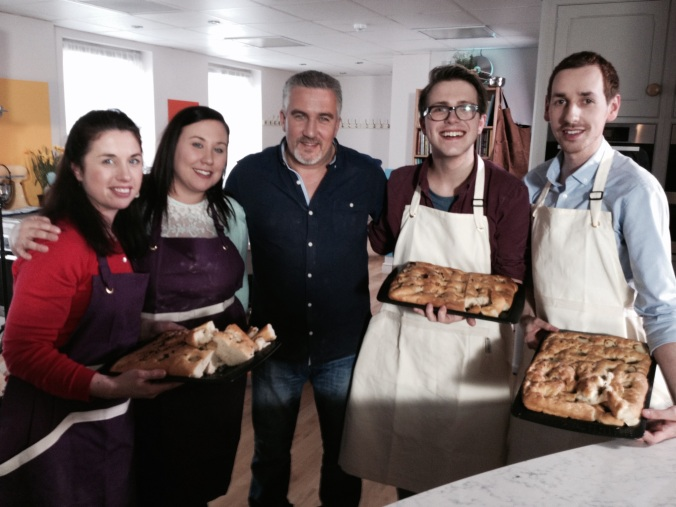 Russell James Alford, Patrick Hanlon, Paul Hollywood, Big Cake Show, Exeter, Focaccia