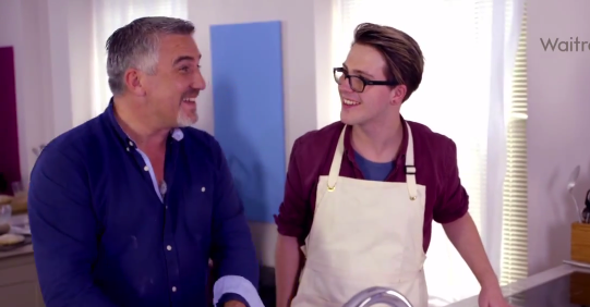 gastrogays, paul hollywood, great british bake off, baking, bread, pitta bread, russell james alford, waitrose