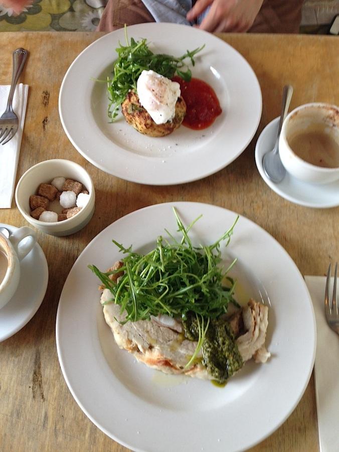 brunch london, hackney pearl, hackney wick restaurant, cold cuts lunch, eggs brunch