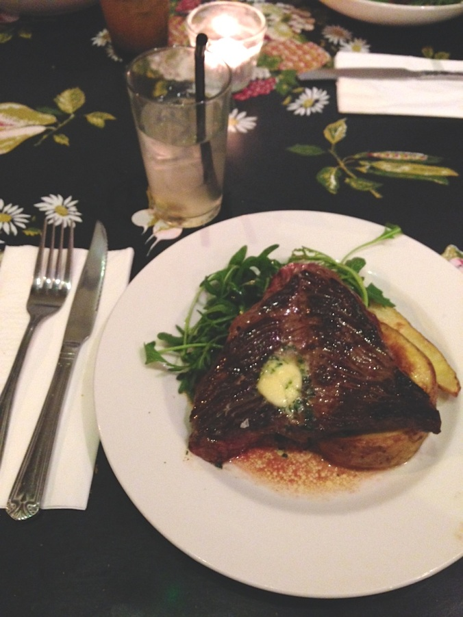 hackney wick restaurant, steak and cocktails, hackney pearl, dinner and drinks